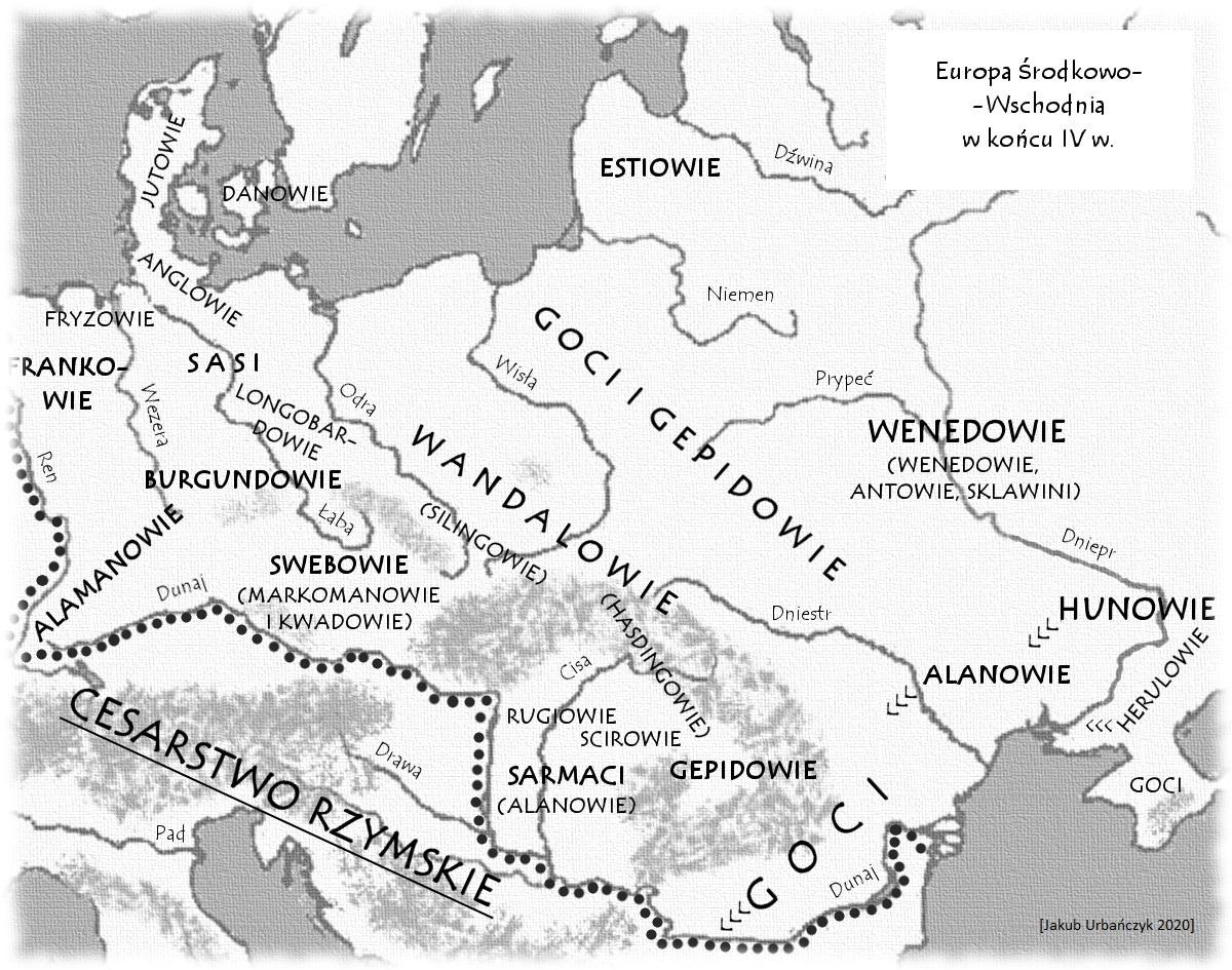 Europa u progu wielkiej wędrówki ludów